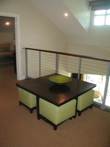 Upstairs common area, two bedroom Bay Vista loft villa, Westin St John Resort