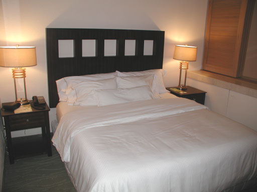 King size Heavenly bed, one bedroom condo, Westin St John Resort