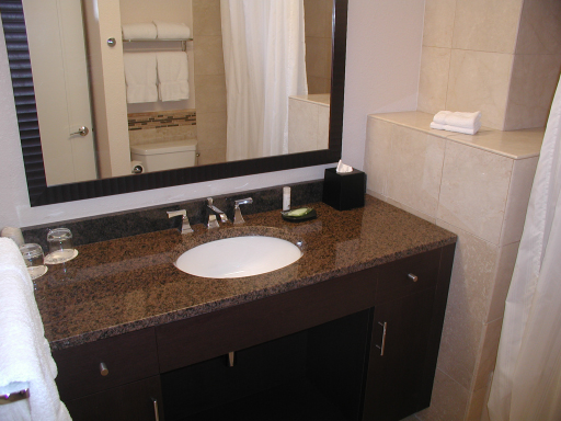 Downstairs bath, one bedroom condo, Westin St John Resort
