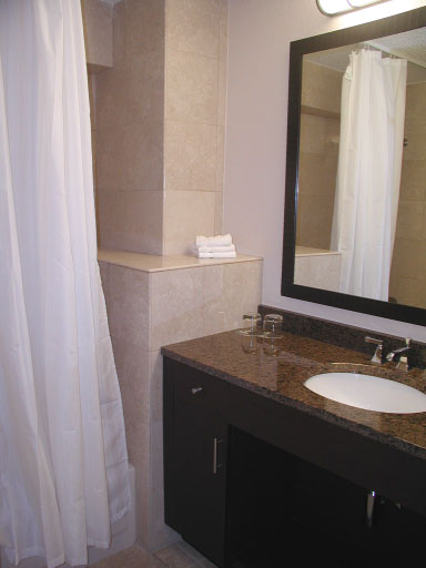 Westin St John Two Bedroom Townhouse downstairs bath