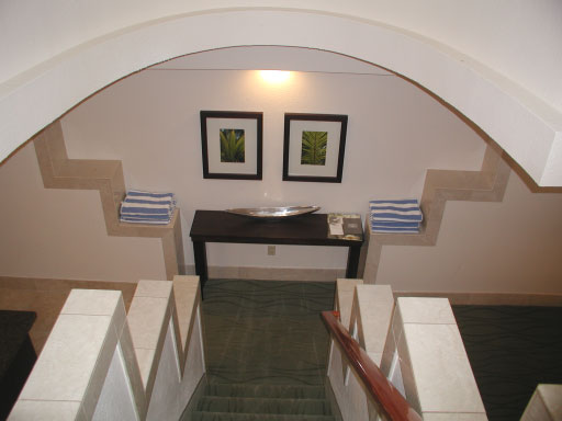 Westin St John Two Bedroom Townhouse stairway