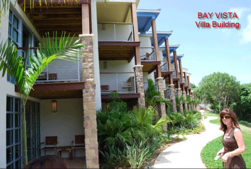 Bay Vista buildings, Westin St John Resort