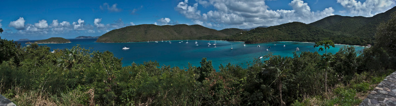 Maho Bay and Francis Bay, St John USVI