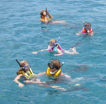 Learning to snorkel, St John USVI