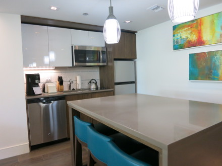 Westin St John Sunset Bay Two Bedroom Kitchen